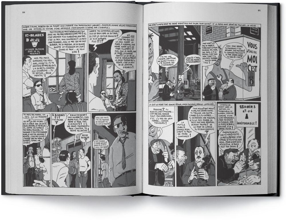2e page interne de La Variante Du Dragon